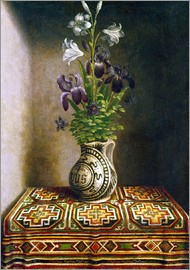 Hans Memling - Still life with flowers