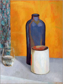 Roger Fry - Still Life with a Blue Bottle