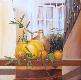 Franz Heigl - Still Life with Pumpkin II