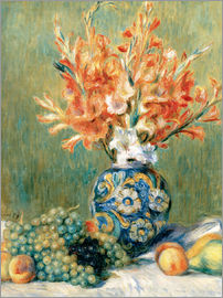 Pierre-Auguste Renoir - Still Life with Fruit and Flowers