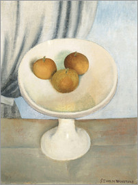 Gustave van de Woestyne - Still Life with fruit bowl