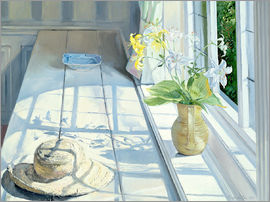 Timothy Easton - Still life in front of the window