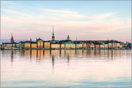Stockholm city in Sweden, The Old Town (Gamla Stan)