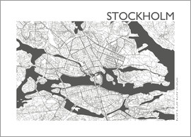 44spaces - STOCKHOLM CARD steelgrey