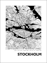 44spaces - Stockholm city map HF 44spaces