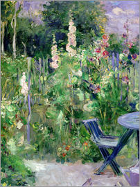 Berthe Morisot - Hollyhocks