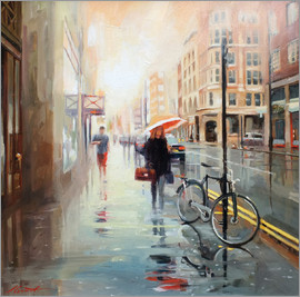 Johnny Morant - storm clearing 24x24