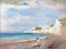 Pierre-Auguste Renoir - Beach at Varangeville