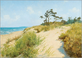 Hermann Seeger - Beach with dunes