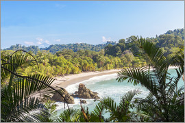Matteo Colombo - Beach and tropical forest, Manuel Antonio National Park, Costa Rica