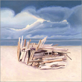 Jennifer McLennan - Beach hut