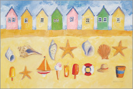 Michael Clark - Beach Huts