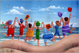 Peter Adderley - Beach party rainbow scene