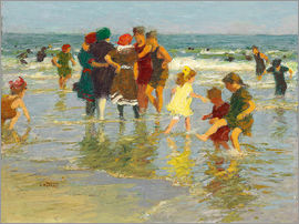 Edward Henry Potthast - beach scene