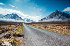 Matteo Colombo - Road to the Highlands, Scotland, UK