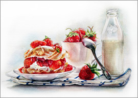 Maria Mishkareva - Strawberry&milk
