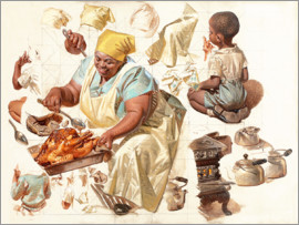 Joseph Christian Leyendecker - The study cook