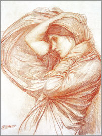 John William Waterhouse - Study for Boreas