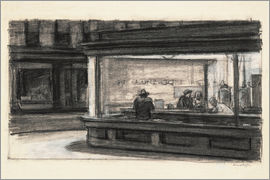 Edward Hopper - Study for Nighthawks