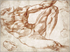 Michelangelo - Study on Adam