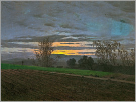 Caspar David Friedrich - New-plowed field