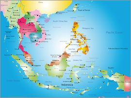 Southeast Asia - Map