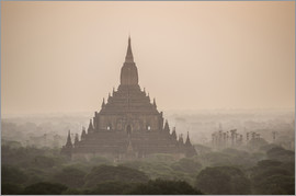 Matthew Williams-Ellis - Sunrise at Sulamani Buddhist Temple, Bagan (Pagan) Ancient City, Myanmar (Burma), Asia