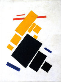 Kasimir Sewerinowitsch  Malewitsch - Suprematische Composition: Airplane Flying