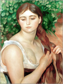 Pierre-Auguste Renoir - Suzanne Valadon (The Braid)