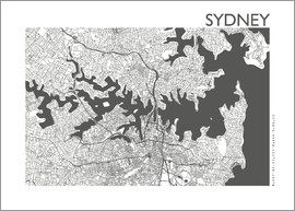 44spaces - SYDNEY CARD steelgrey