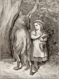 Ken Welsh - Scene From Little Red Riding Hood By Charles Perrault