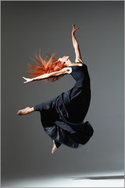 Dancer with red hair