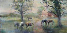Marilyn Hageman - Daybreak on the Farm
