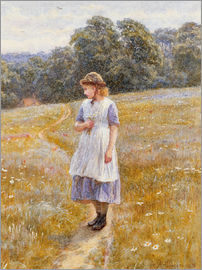 Helen Allingham - Daydreamer