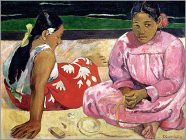Paul Gauguin - Tahitian Women on the Beach