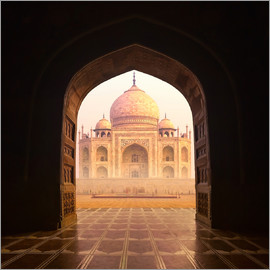 Le Taj Mahal en Inde