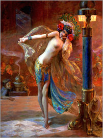 Gaston Bussiere - Dance of the Seven Veils