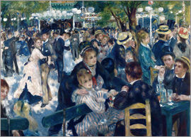 Pierre-Auguste Renoir - Ball at the Moulin de la Galette