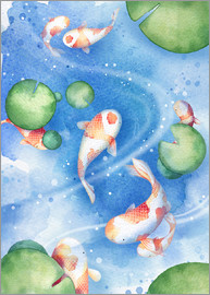 Rebecca Richards - Dancing fishes