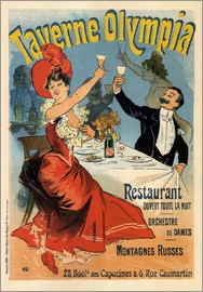 Jules Cheret - Taverne Olympia - Advertising