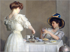 William McGregor Paxton - Tea leaves
