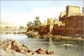 Carl Friedrich Heinrich Werner - Temple of Isis at Philae