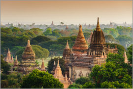 Temples of Bagan in Mandalay, Myanmar