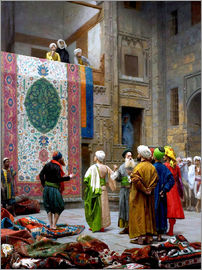 Jean Leon Gerome - The Carpet Merchant