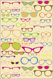 Texture from glasses