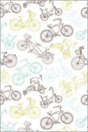 Texture with bicycles
