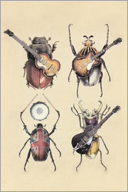 Eric Fan - Meet the Beetles 2 Poster Lounge