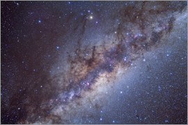 Alan Dyer - The center of the Milky Way through Sagittarius and Scorpius.