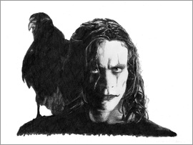 Cultscenes - THE CROW alternative movie art