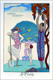 Georges Barbier - The Earth, 1925